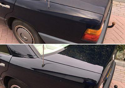 Mercedes achterkant voorbeeld - klijnsmit carcleaning